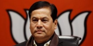 A file photo of Assam Chief Minister Sarbananda Sonowal